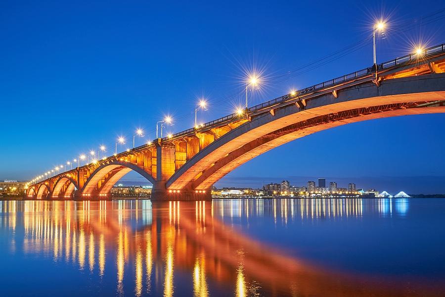 Особенности организации архитектурного освещения мостов